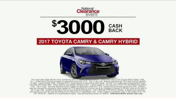 Toyota National Clearance Event TV Spot, 'Yours One Day' [T2] - Thumbnail 7