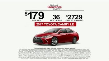 Toyota National Clearance Event TV Spot, 'Yours One Day' [T2] - Thumbnail 9