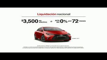 Toyota Liquidación Nacional TV Spot, 'Compradores compulsivos' [Spanish] [T2] - Thumbnail 6
