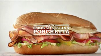 Arby's Smoked Italian Porchetta TV Spot, 'Grandmother-Approved' - 961 commercial airings