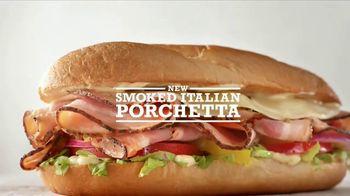 Arby's Smoked Italian Porchetta TV Spot, 'Grandmother-Approved' - Thumbnail 8