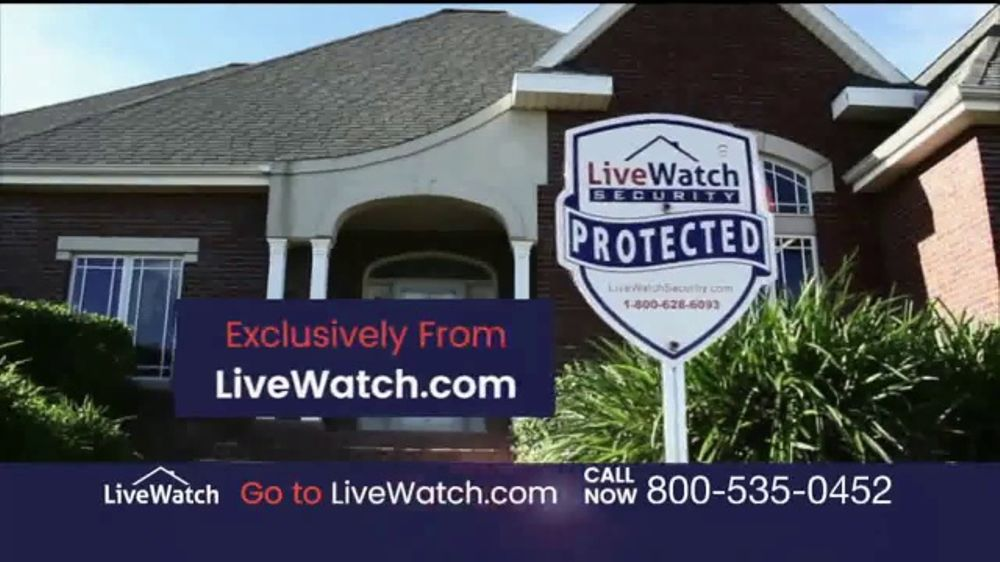live watch plug protect tv commercial home security and control ispottv