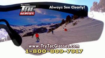 Bell + Howell Tac Glasses TV Spot, 'No Ordinary Sunglasses' - Thumbnail 8
