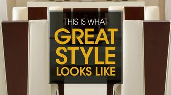 Rooms to Go TV Spot, 'This Is What Great Style Looks Like' - Thumbnail 2