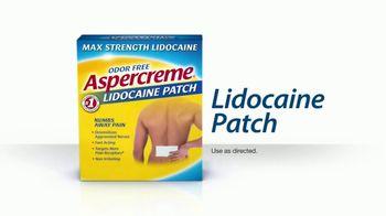 Aspercreme Lidocaine Patch TV Spot, 'Bowling' - Thumbnail 3