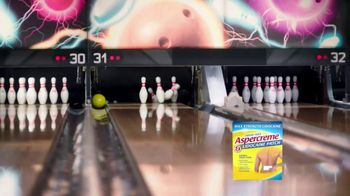 Aspercreme Lidocaine Patch TV Spot, 'Bowling' - Thumbnail 8