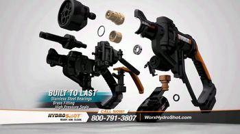Worx Hydroshot TV Spot, 'World's First Portable Power Cleaner' - Thumbnail 10