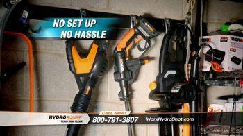 Worx Hydroshot TV Spot, 'World's First Portable Power Cleaner' - Thumbnail 7