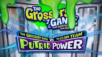 The Grossery Gang Putrid Power Sets TV Spot, 'Clean vs. Gross Showdown' - Thumbnail 1