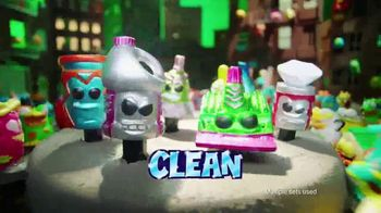 The Grossery Gang Putrid Power Sets TV Spot, 'Clean vs. Gross Showdown' - Thumbnail 5