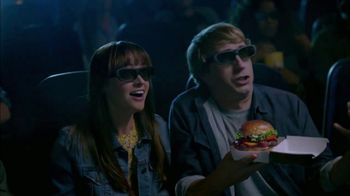 Jack in the Box Smoky Jack Burger Combo TV Spot, 'Movie Theater' - Thumbnail 8