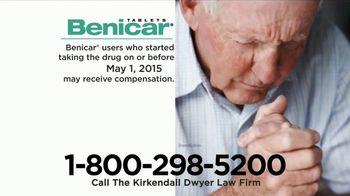 The Kirkendall Dwyer Law Firm TV Spot, 'Benicar'