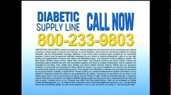 Global HealthCare Management TV Spot, 'Diabetic Supply Line' - Thumbnail 7