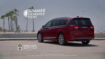 Chrysler Summer Clearance Event TV Spot, '2017 Pacifica: Before Technology' [T2] - 877 commercial airings