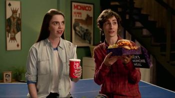 Jack in the Box Sriracha Curly Fry Burger Munchie Meal TV Spot, 'Basement' - 233 commercial airings
