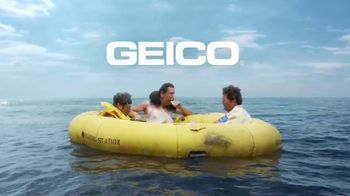 GEICO TV Spot, 'Adrift and Hungry' - 2874 commercial airings
