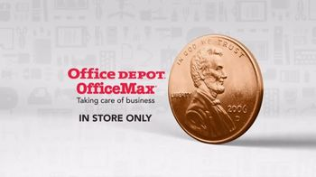 Office Depot One Cent Event TV Spot, 'Supplies' - Thumbnail 8