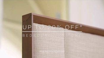 Dania Bedroom Event TV Spot, 'Freshen up Your Home' - Thumbnail 3