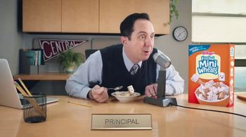 Frosted Mini-Wheats TV Spot, 'Principal' - 12830 commercial airings