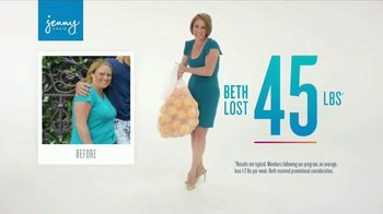 Jenny Craig TV Spot, 'Beth: Lose 20 for 20'