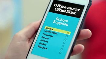 Office Depot OfficeMax Taking Care of Back to School TV Spot, 'Online'