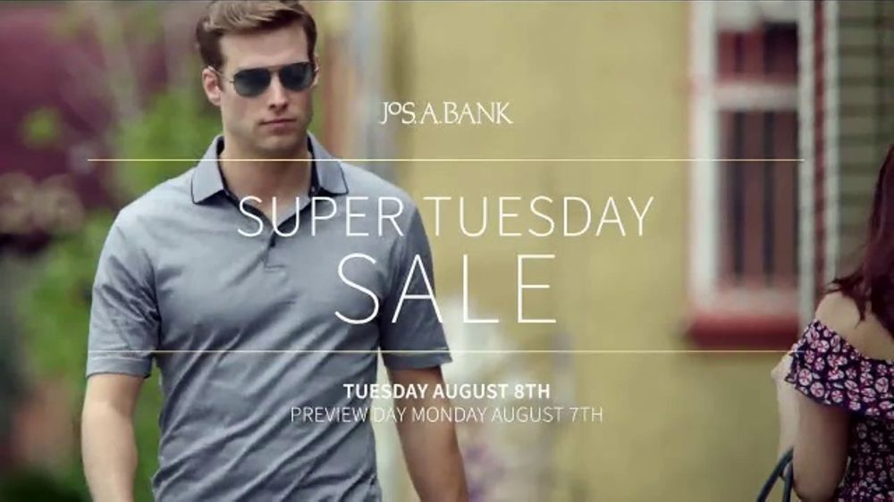 JoS. A. Bank Super Tuesday Sale TV Commercial, 'Sportcoats, Suits & Shirts'