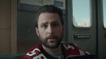 DIRECTV NFL Sunday Ticket TV Spot, 'Fans' Featuring Charlie Day - Thumbnail 1