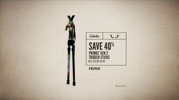 Cabela's Great Outdoor Days Sale TV Spot, 'Trigger Sticks' - Thumbnail 5