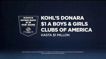 Kohl's TV Spot, 'Game On: ropa escolar y vaqueros' [Spanish] - Thumbnail 6
