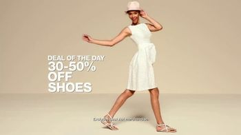 Macy's One Day Sale TV Spot, 'Jewelry, Bras and Shoes' - Thumbnail 9
