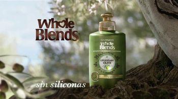 Garnier Whole Blends Legendary Olive TV Spot, 'Suavidad' [Spanish] - Thumbnail 3