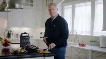 Johnsonville Sizzling Sausage Grill TV Spot, 'Easy' Feat. Boomer Esiason - 8 commercial airings