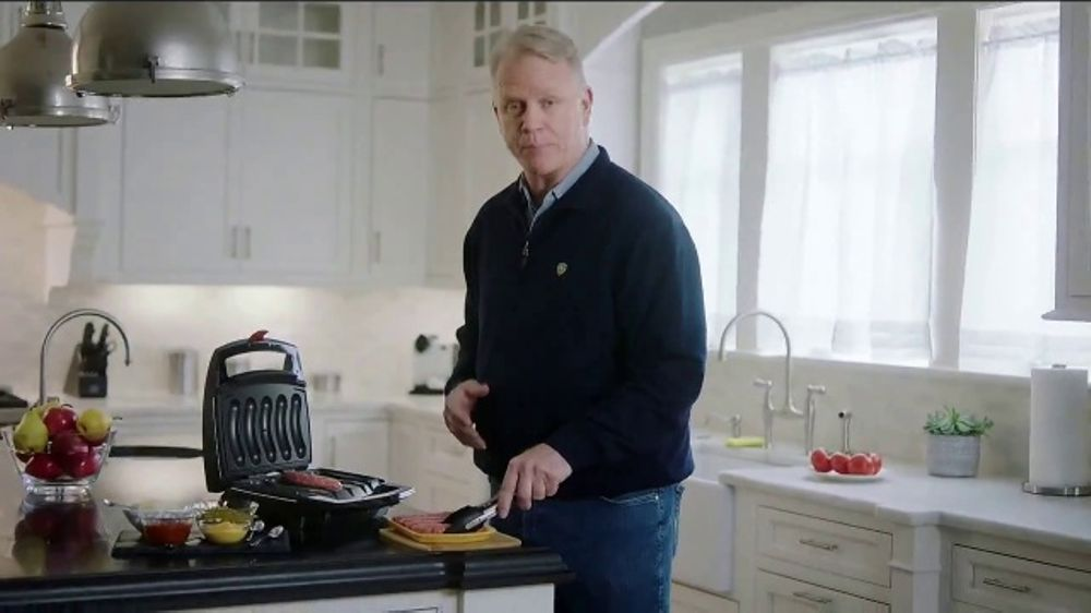 Johnsonville Sizzling Sausage Grill TV Commercial, U0027Easyu0027 Feat. Boomer  Esiason   ISpot.tv
