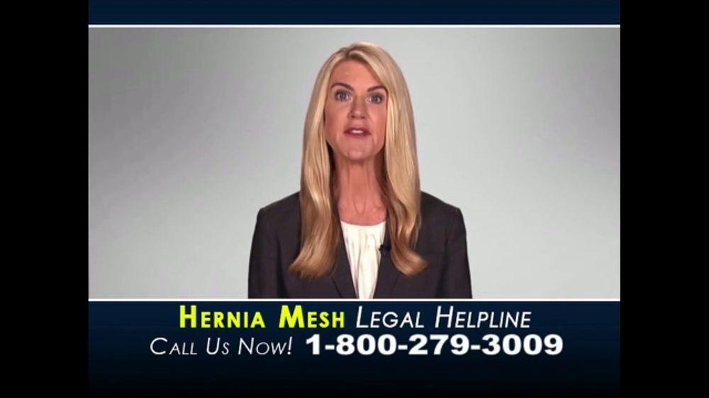 Hernia Mesh Legal Helpline TV Commercial, 'Complications ...