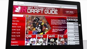 Rotoworld.com TV Spot, '2017 Draft Guide' - Thumbnail 4
