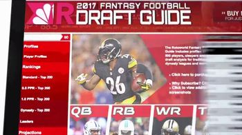Rotoworld.com TV Spot, '2017 Draft Guide' - Thumbnail 5