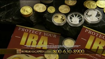Rosland Capital TV Spot, 'Backed by Gold' Featuring William Devane - Thumbnail 5