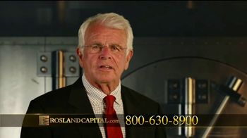 Rosland Capital TV Spot, 'Backed by Gold' Featuring William Devane - Thumbnail 9