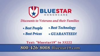 Blue Star HonorCare TV Spot, '20 Million Seniors Will Need Help' - Thumbnail 2