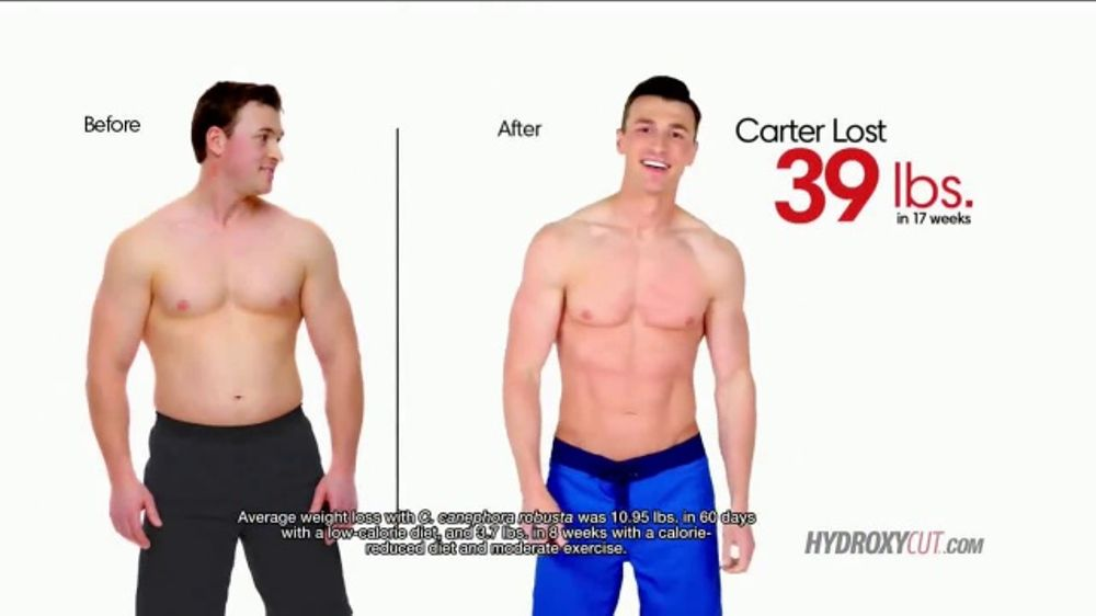 Hydroxy Cut TV Commercial, 'Weight Loss Transformations'