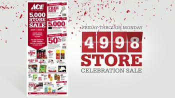 ACE Hardware 5,000 Store Celebration Sale TV Spot, 'Number of Ways' - Thumbnail 8