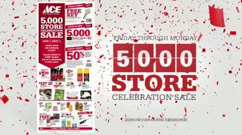 ACE Hardware 5,000 Store Celebration Sale TV Spot, 'Number of Ways' - 1606 commercial airings