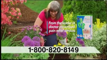 AccuRelief Wireless Pain Relief System TV Spot, 'Block Pain Now'