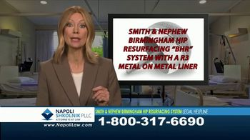 Napoli Shkolnik PLLC TV Spot, 'Hip Resurfacing System Complications'