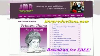 JMR Productions TV Spot, 'Princess Diana: The Musical Songs' - Thumbnail 7
