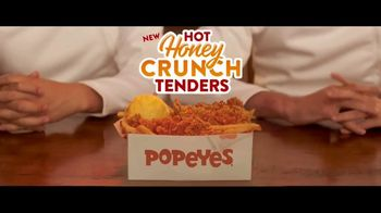 Popeyes Hot Honey Crunch Tenders TV Spot, 'Comedy Central: Hot or Sweet' - Thumbnail 7