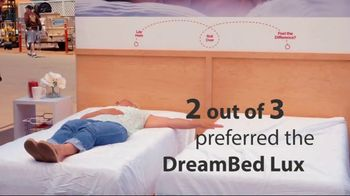 Mattress Firm Dream Bed Lux TV Spot, \'Dare to Compare\'