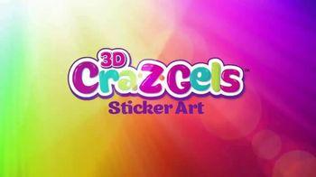 3D Cra-Z-Gels Sticker Art TV Spot, 'Deluxe Sticker Art' - Thumbnail 1
