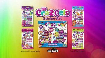 3D Cra-Z-Gels Sticker Art TV Spot, 'Deluxe Sticker Art' - Thumbnail 10