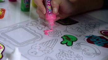 3D Cra-Z-Gels Sticker Art TV Spot, 'Deluxe Sticker Art' - Thumbnail 3